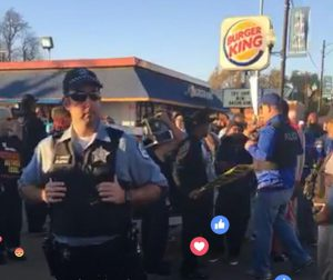 Think you're going to disrupt Burger King? Not on this guys watch. #flamebroiled
